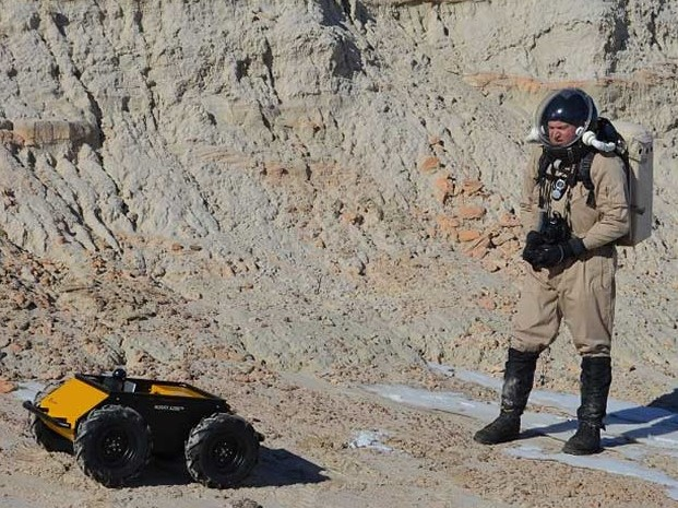 Clearpath Husky UGV can operate in dangerous environments
