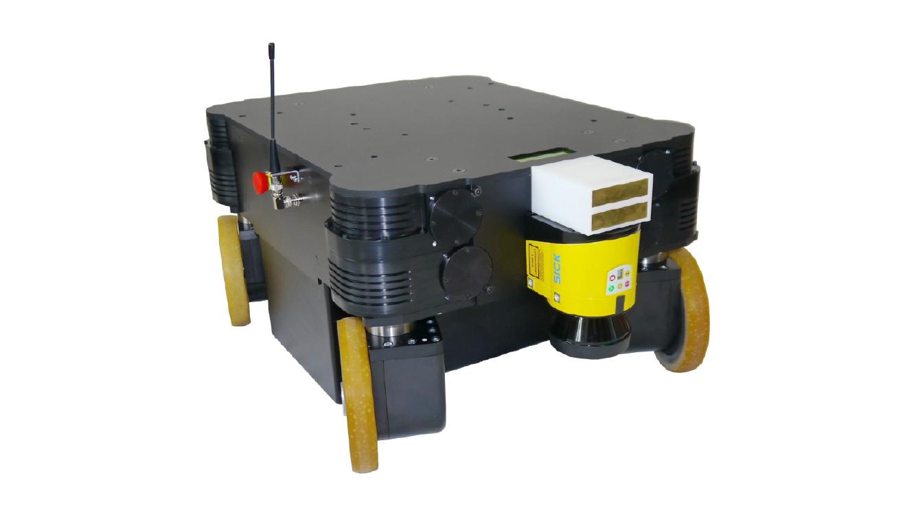 Neobotix MPO-700 powerful, omnidirectional mobile robot for service robotics