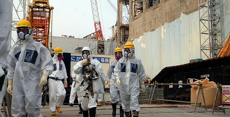 IAEA Experts at Fukushima