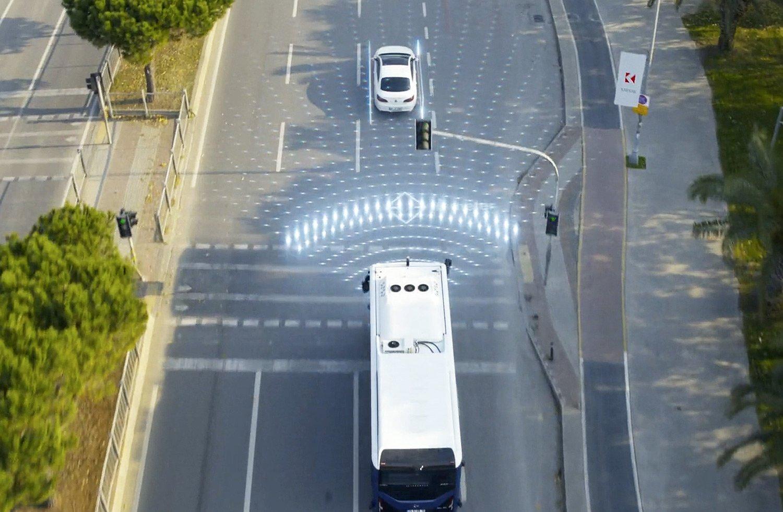 Ouster LiDAR powering autonomous public transport