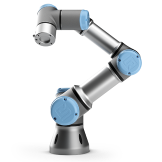 Universal Robots UR3e collaborative table-top robot arm