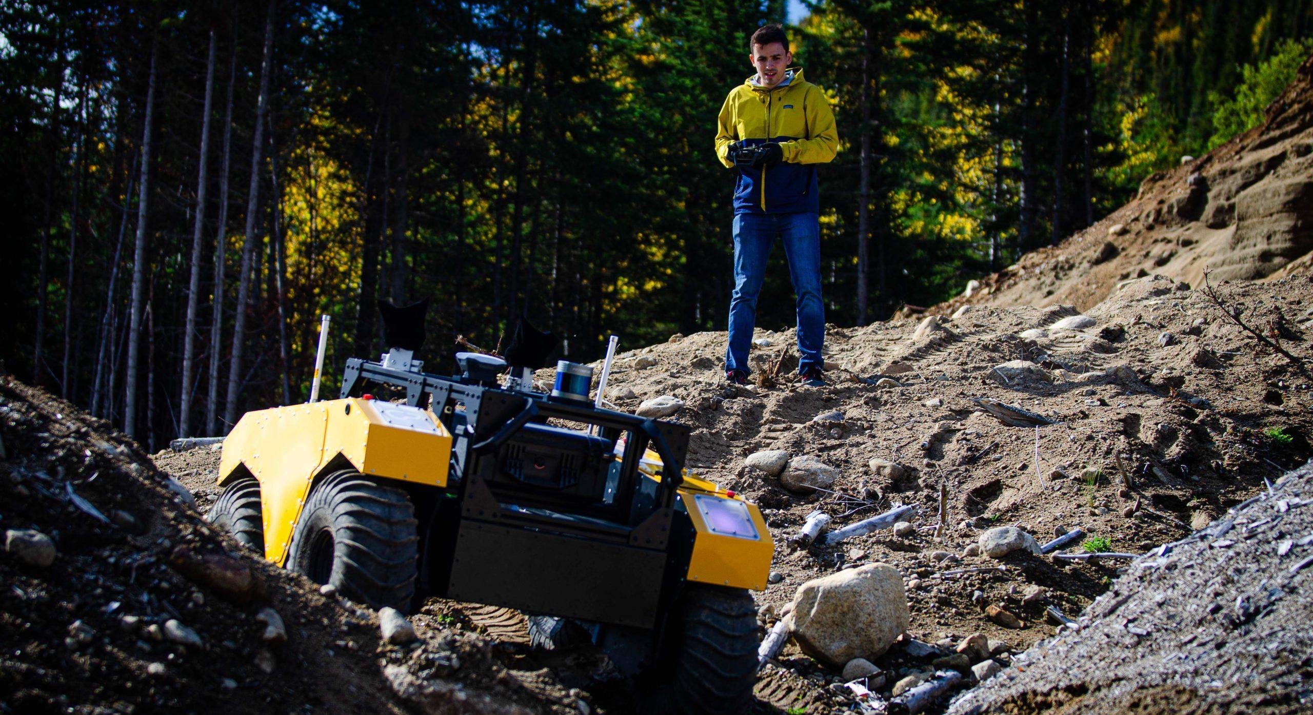 Warthog UGV takes on challenging terrain
